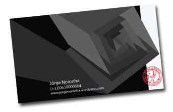 Cartão de visita-6 rotação